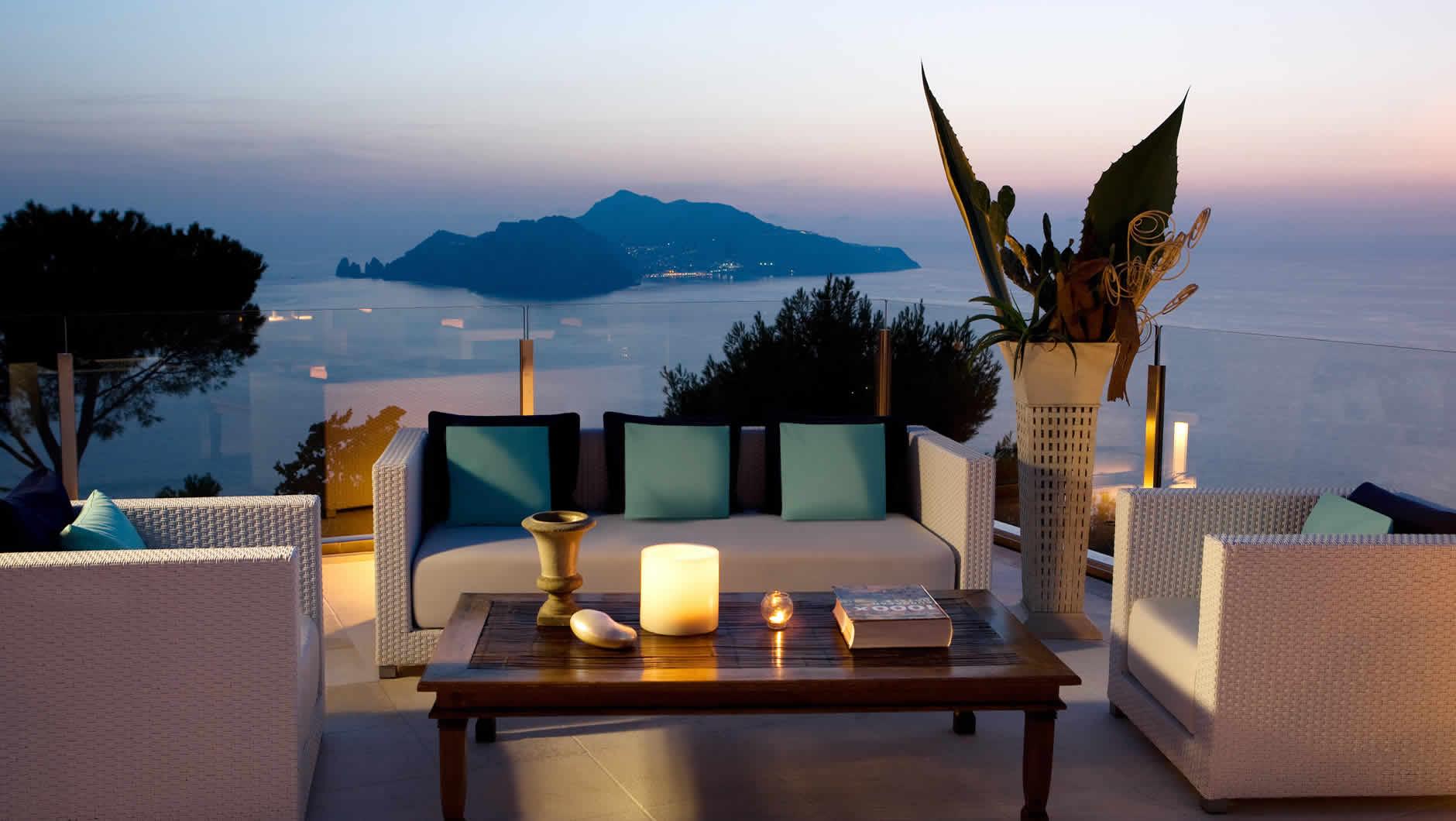 Relais blu sito web ufficiale boutique hotel for Conca azzurra massa lubrense piscine